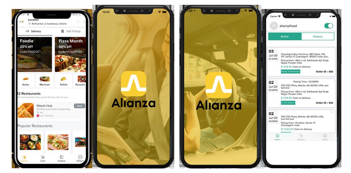 Aplicaciones de Alianza App