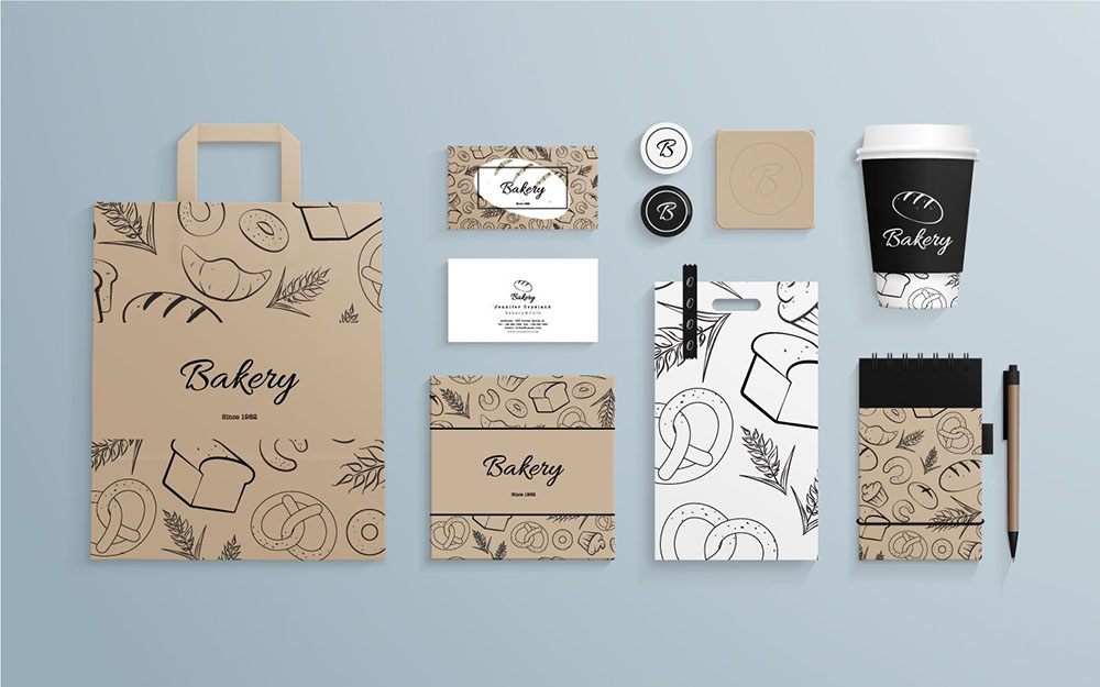Delivery Food Packaging Branding