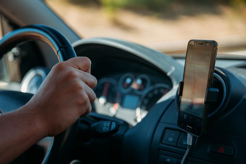 Telefono para Conductor de Viaje Compartido