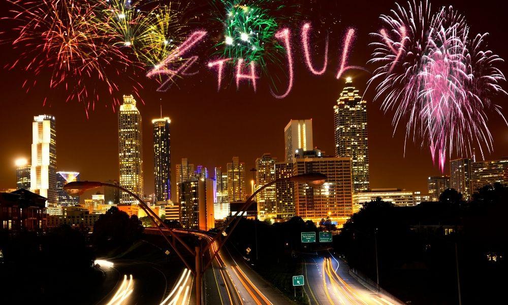 Celebración 4 de Julio en Atlanta